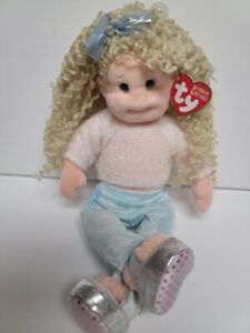 """Ty Beanie Bopper-New Sassy Star- MWMT-Sparky Shirt& Silver Shoes 13.5"""""""