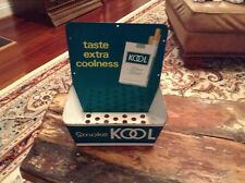 Vintage Kool Menthol Cigarettes Store Display Tin Match Holder Advertising