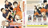 ANIME DVD Haikyu!! Season 1-3(1-60End+4 Movie)Eng sub&All region FREE SHIP+GIFT