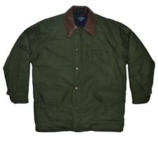 GANT Vintage The Trekker Barn Coat Men's Size Large L Green Field Hunting Jacket
