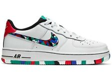 Nike Air Force 1 Low Crayon White Multi (Gs