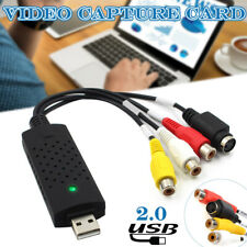USB 2.0 Audio TV Video VHS to PC DVD VCR Converter Digtal Capture Card Adapter