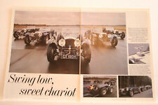 British Invicta General Article motoring epherma Donald Healey drove one !