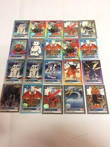Lot Of 20 Digimon Trading Cards 1999 Bandai Champion Digimon