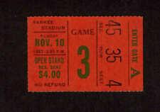 1963  NEW YORK GIANTS vs PHILADELPHIA EAGLES  Ticket Stub
