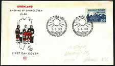 Greenland 1978, 25th Anniv Of Coronation FDC First Day Cover #C41480