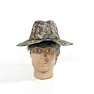 Mens Mossy Oak Cowboy Hat Camo