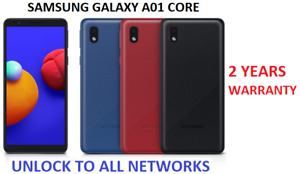 New Samsung Galaxy A01 Core 16GB Dual Sim 2020 4G LTE Smartphone
