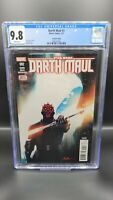 STAR WARS DARTH MAUL #2 CGC 9.8 2nd Print Variant - 1st Appearance Cad Bane