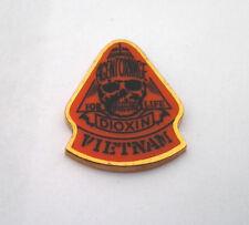 AGENT ORANGE FOR LIFE DIOXIN VIETNAM    Military Veteran  Hat Pin 14277 HO