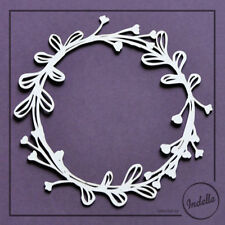 Large Round Chipboard Frame Card Making Embellishment Papercraft Scrapbooking