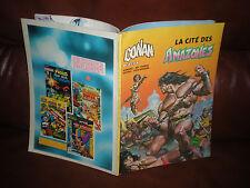 CONAN LE BARBARE - LA CITE DES AMAZONES - ARTIMA COLOR MARVEL GEANT 1982
