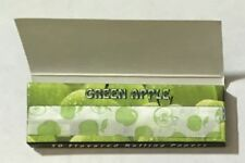 """NEW - PACK OF 50 HORNET - (GREEN APPLE FLAVOURED) ROLLING PAPERS - 1 1/4"""""""