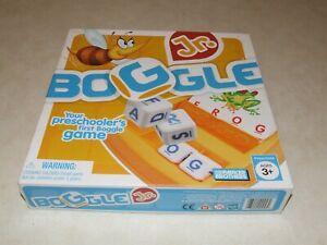 Boggle Jr Game - Your preschooler's first Boggle Game - Complete