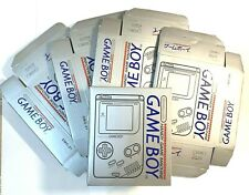 Game Boy Paper Carton Packing Box Case Protector (like original) for Gameboy DMG