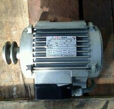 Ber-Mar Drycleaning spin motor 1.3 Hp Bm80L4.3001