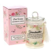 Grandmother Gift Sentiment Candle Jar 65344