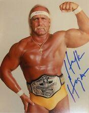 AUTOGRAPHED Vintage HULK HOGAN PHOTO COA wrestling signed WWF WWE WCW