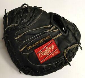 "Rawlings Heart Of The Hide Black 34"" Catchers Mitt PROSCM41B RHT Gold Glove PRO"
