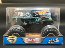 Hot Wheels Monster Jam 1/24 Grave Digger Grandma Gold Rims
