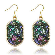 Fashion Ladies Drop Earrings Dangle Earwear with Marbe Effect Stone E1274