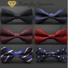 d54baec342a0 Men Classic Wedding/Formal Adjustable Satin Striped Bow Tie Neckties 20  Styles