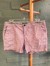 Old Navy Women's Lavender Eyelet Lace Shorts Size 6