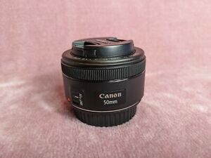 Canon EF 50mm F1.8 STM Lens - Black (Pristine condition, used once)