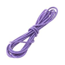 Violet Jewellery Beading 100% Cotton Cord 1mm - 1 Metre Length (A96/8)