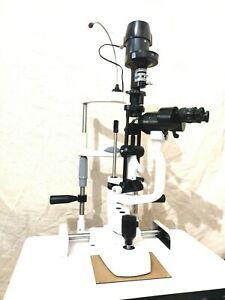 2 Step Slit Lamp Haag Streit Type With Accessories