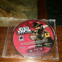 Red Dead Redemption - Game of the Year Edition (PlayStation 3, 2011) Disc Only
