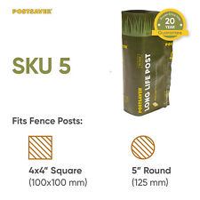 """Fence Posts Postsaver Post Repair Protection Sleeves for 4x4"""" - 10 Pack (SKU5)"""