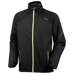 *Men's Columbia Flyin' Dry Omni-Dry Shell Jacket (For Men)  Black NWT XL