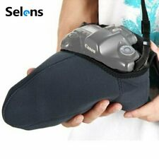 DSLR Camera Lens Pouch Bag Protector Case Soft Cover L Size for Canon Nikon