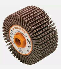New listing Walter 07J426 4-1/4x2x5/8-11 Coolcut Linear Finishing Flap Drum 60 Grit