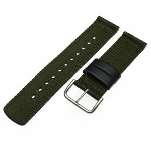 Genuine Casio Watch Band Pro-Trek Triple Sensor PRG-600YB-3 Green Nylon Strap