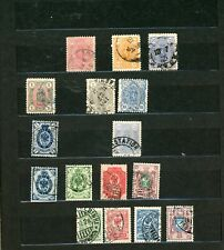 FINLAND--Accumulation of 440 stamps in Stock Book