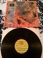 PAULINE JULIEN / TRIO FRANCOIS COUSINEAU LP EX!!! RARE ORIGINAL RADIO CANADA 269