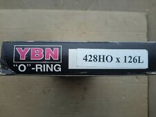 New YBN 428H X 126 link 'o' ring motorcycle chain