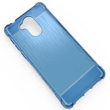 FUNDA gel tpu silicona para huawei nova smart honor 6c / 6s  anti golpe azul