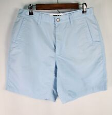 "MK Mountain Jackson Hole Men's 33 Waist Light Blue 8"" Inseam Shorts"