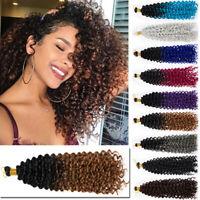 Marley Bob Deep Curly Water Deep  Wave Crochet Braiding Braids Hair Extensions J