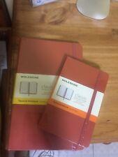 moleskine notebooks Large and Small