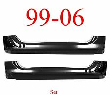 99 06 Extended Rocker Panel SET, 2Dr Regular Cab, Chevy GMC Truck, 2.0MM Thick