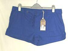 "NWT LEE COOPER UK 16 W38"" Blue 100% Cotton Shorts"