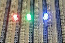 50 Red/Green/Blue 5mm 4 Pins Common Anode LEDs