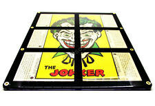 RARE 1966 Batman National Periodical Batlaffs Joker Card Set In New Frame + F.P!