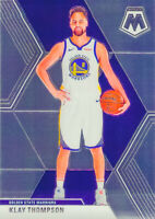Klay Thompson 2019-20 MOSAIC Chrome Base Card #80 Golden State Warriors NBA