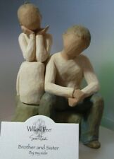 WILLOW -TREE DEMDACO BROTHER & SISTER 26187   NEW AND BOXED WITH TAG