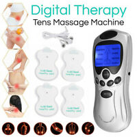 Massager Full Body Pain Relief acupuncture Back Therapy Tens Machine Digital New